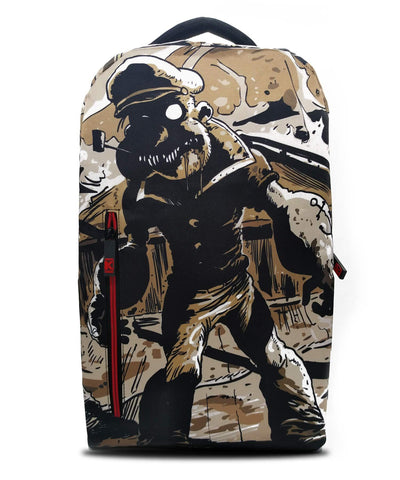 de.Kryptic Popeye Zombie Augmented Reality Backpack Men | Black (037)
