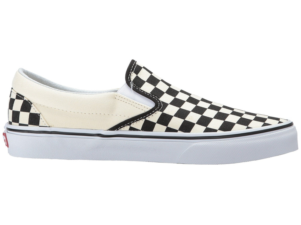 VANS Checkerboard Slip-On Men | Black / Off White (EYEBWW)