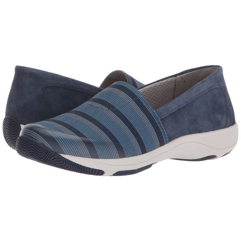 DANSKO Harriet Women | Blue / Stretch Suede (4513057505)