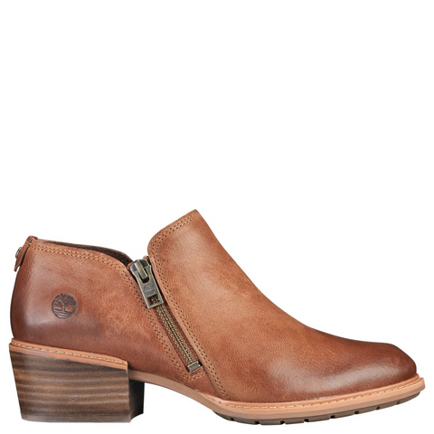 TIMBERLAND Sutherlin Bay Shootie Women | Brown Full Grain (A1YHWK43)