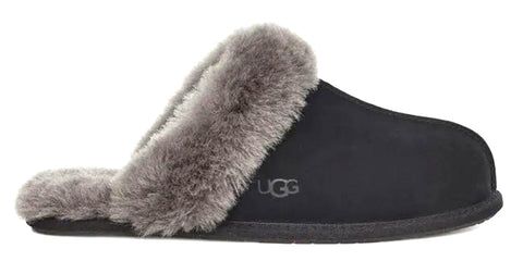 UGG Scuffette Women | Black/Grey (1106872)