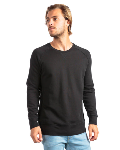 RICHER POORER Crew Sweatshirt Men | Black (MAT-SSCR01)