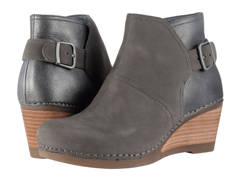 DANSKO Shirley Women | Grey Nubuck (1252941200)