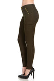 ELITE JEANS Cargo Pants Women | Olive (P19592-06)