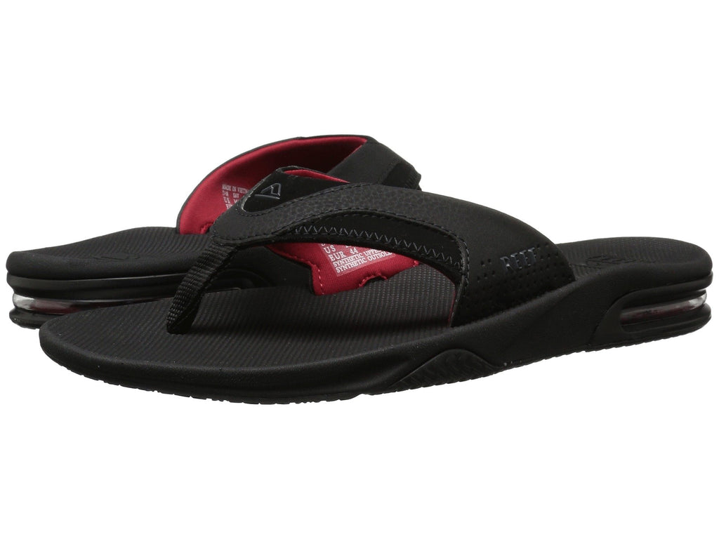 REEF Fanning Men | Black / Red (RF002026ABR)