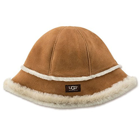 UGG Sheepskin Cloche Women | Chestnut (14174)