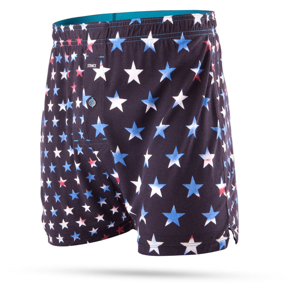 STANCE Formation Stars Mercato Boxer Men | Black (M410D16FOR)