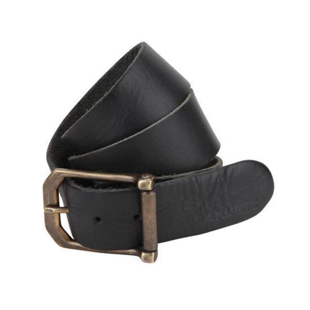 A. KURTZ Lambert Buffalo Leather Belt Men | Black (AKL071)