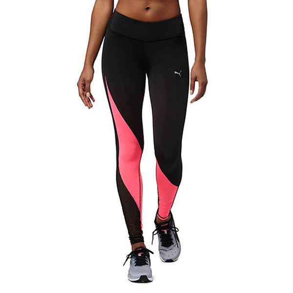 PUMA Explosive Tights Women | Black / Knockout Pink (515116-03)