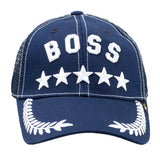 GOLD STAR Boss Trucker Hat | Navy