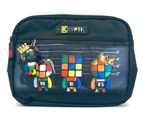de.Kryptic Rubik's Unusual Suspect Augmented Reality Chest Bag Unisex | Black (051B)