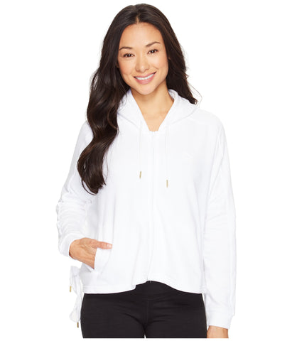 PUMA Heart T7 Track Jacket Women | White (573041-02)