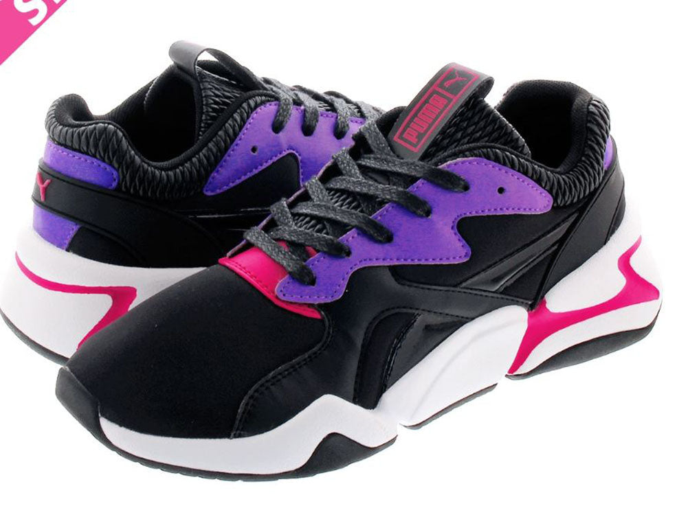 PUMA Nova Sci-Fi Women | Puma Black/ Purple Glimmer (36991802)