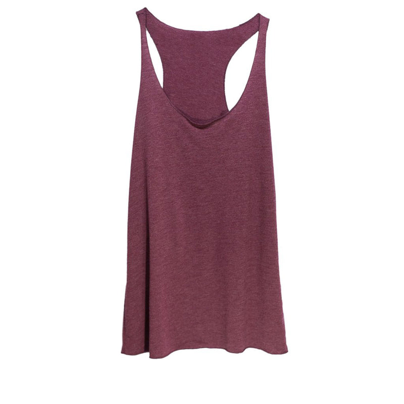 THREAD SOCIETY Comfy Racerback Tank Top Women | Maroon