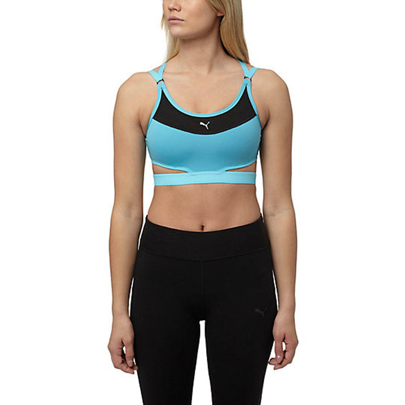PUMA PWRshape Future Bra Women | Blue Atoll (515148-03)