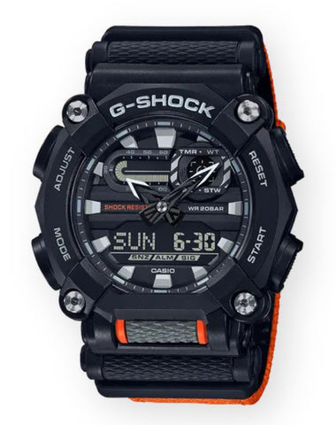 G-SHOCK GA900C-1A4 Men | Black/Orange