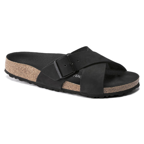 BIRKENSTOCK Siena Nubuck Leather Women | Black (1019959)
