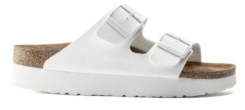 BIRKENSTOCK Arizona Platform Vegan Women | White