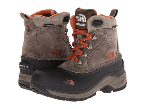 THE NORTH FACE Chilkat Lace Kids | Mud Pack Brown / Sienna Orange (AX0Y-C1)