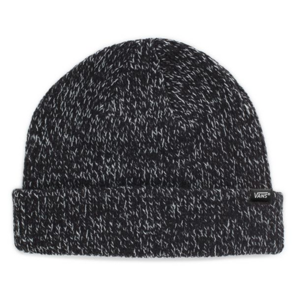 VANS Core Basics Beanie Unisex | Black Heather (VN000K9YBHH)