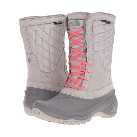 THE NORTH FACE Thermoball Utility Mid Women | Dove Grey / Calypso Coral (2T5D)