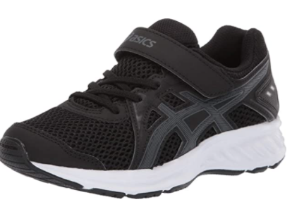 ASICS Jolt Kids | Black/Steel Grey (1014A034)