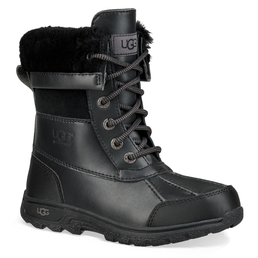 UGG Butte II CWR Kids | Black (1098890K)
