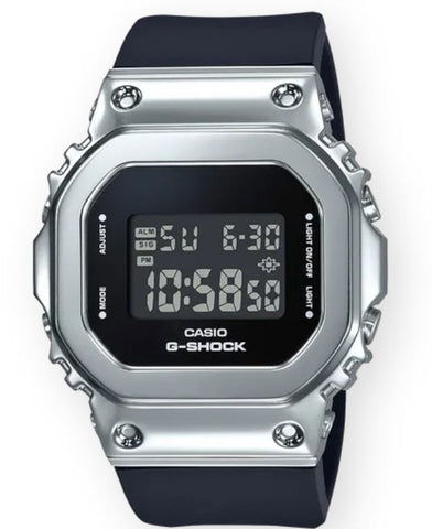 G-SHOCK GMS5600-1 Men | Black/Silver