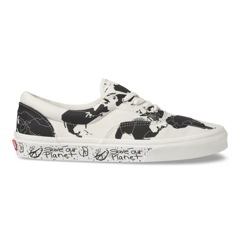 VANS Era Save Our Planet Unisex | Classic White/Black (VN0A4BV4TGP)