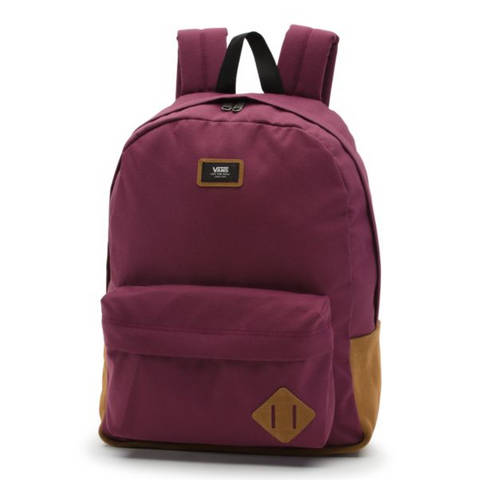 VANS Old Skool Solid Backpack Unisex | Prune (VN0A3I6R7D5)