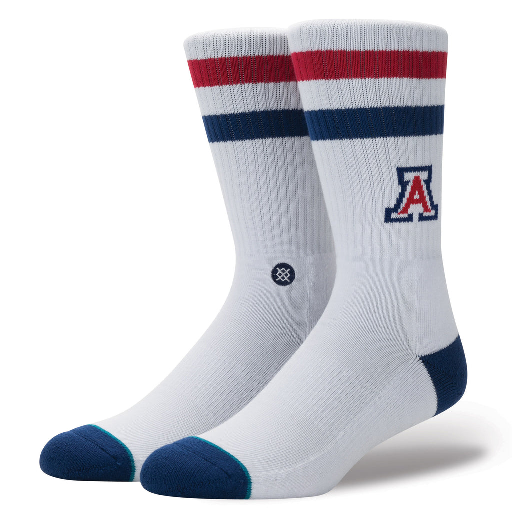 STANCE Mens NCAA Arizona White Large