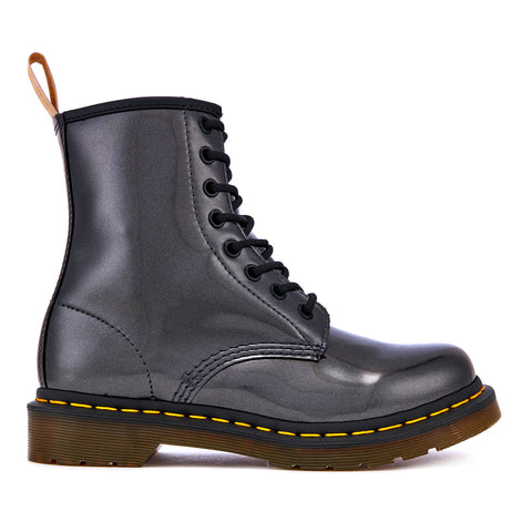 DR. MARTEN Vegan 1460 Chrome Women | Gunmetal (23922029)