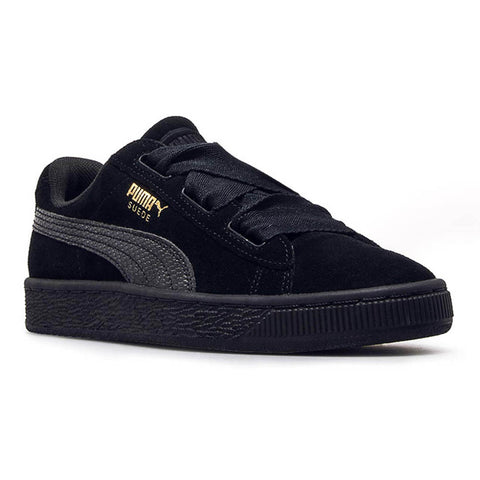 PUMA Suede Heart SNK Youth | Black / Black (364918-06)