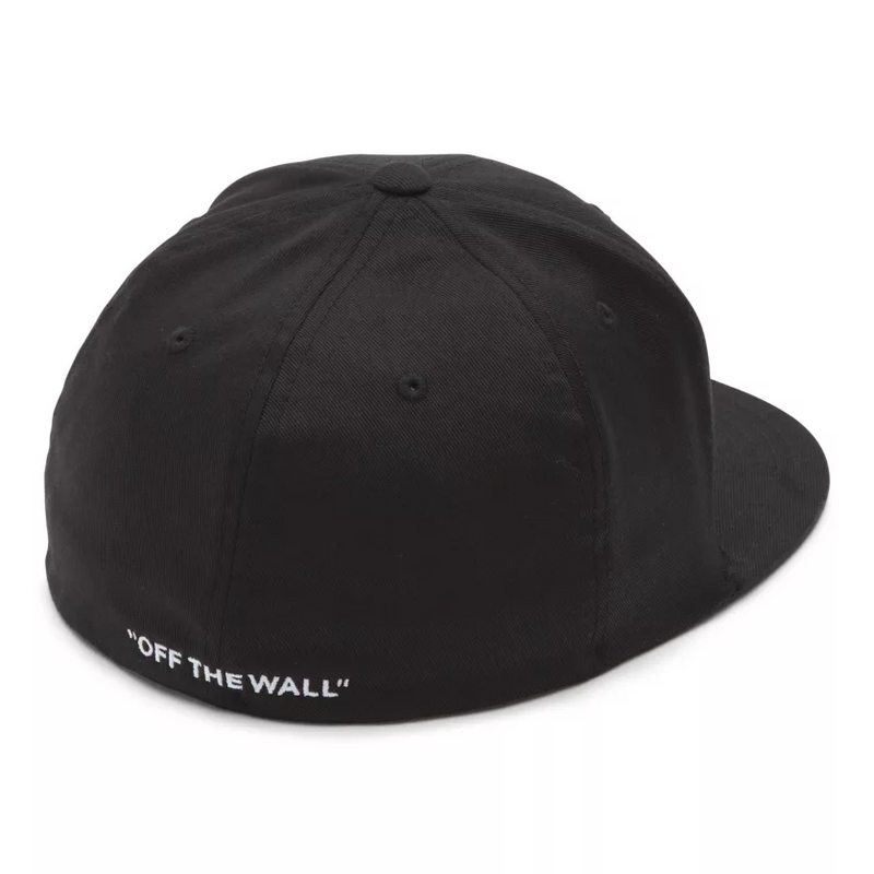 VANS Splitz Flex Fit Hat Men | Black (VN000CFKBLK)