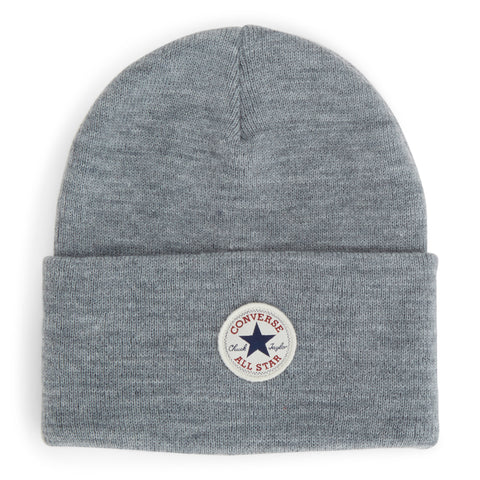 CONVERSE Tall Cuff Core Watchcap Beanie | Heather Grey (CON588)