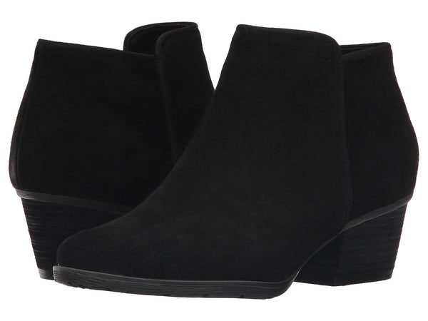 BLONDO Villa Women | Black Suede (B5491)