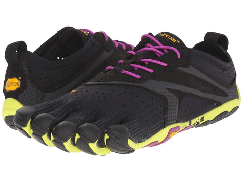 VIBRAM V-Run Women | Black / Yellow / Purple (16W3105)