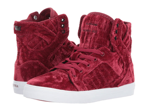 SUPRA Skytop Kids | Dark Ruby / White (58062-643-M)