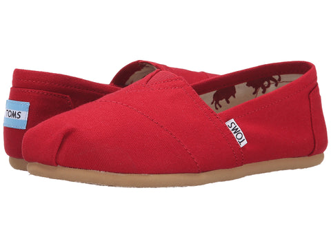 TOMS Canvas Original Women | Red (1001B07)