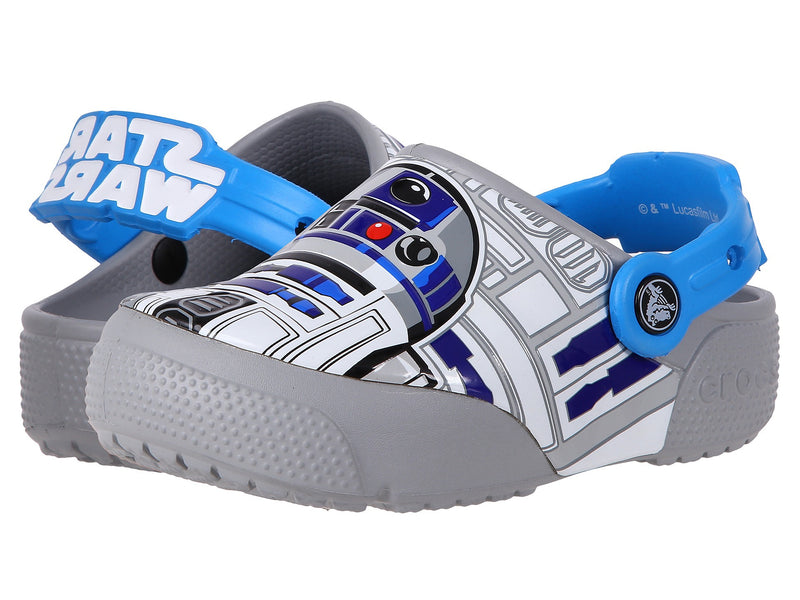 CROCS Fun Lab Lights R2D2 Kids/Toddler/Infant | Ocean / Light Grey (204135)