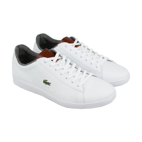 LACOSTE Carnaby Evo 318 2 Men | White / Brown (7-36SPM0010385)