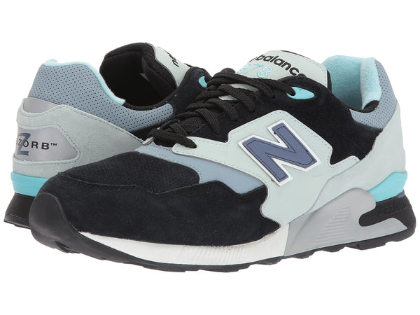 NEW BALANCE 878 Men | Black / Mint Cream (ML878MBK)