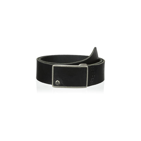A. KURTZ Keller Buffalo Leather Belt Men | Black (AKL072)