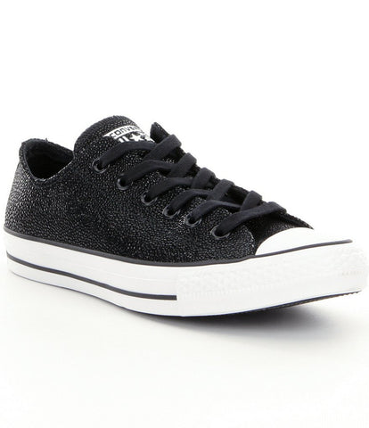 CONVERSE Chuck Taylor Ox Stingray Metallic Kids | Black / White / Black (353349C)