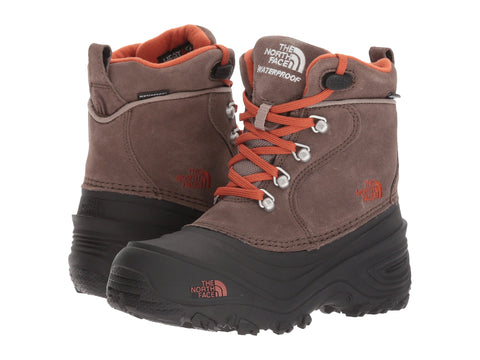 THE NORTH FACE Chilkat Lace II Youth | Mud Pack Brown/Sienna Orange (NF0A2T5R)