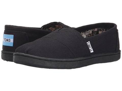 TOMS Canvas Original Youth | Black (012001C13)