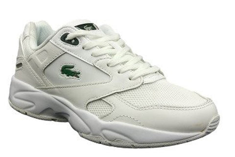 LACOSTE Storm 96 LO 0120 3 Women | White/Dark Green (7-40SFA00661R5)