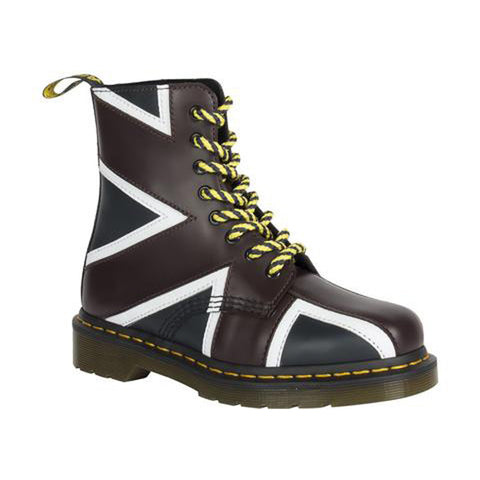 DR. MARTENS Pascal Brit Unisex | Navy / Oxblood / White Smooth+PU (22774410)