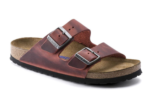BIRKENSTOCK Arizona SoftFootbed Women | Earth Red (1015545)
