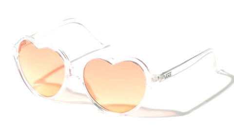 VANS Heartthrob Sunglasses Women | Clear/Gradient (VN0A3UQJUVU)